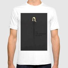 Karl Lagerfield Aesthetic Mens Fitted Tee MEDIUM White