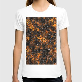 Ancient Amber Tiles Set in Gothic Metal T-shirt