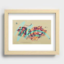 crossingbird Recessed Framed Print