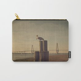 Pelican at the Cooper River Bridge Carry-All Pouch