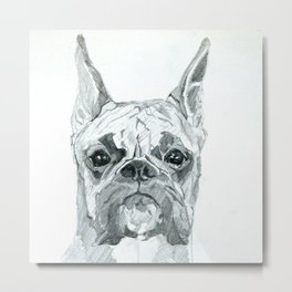 The Boxer Dog Miley Metal Print