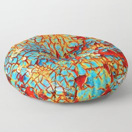 Rust Floor Pillow