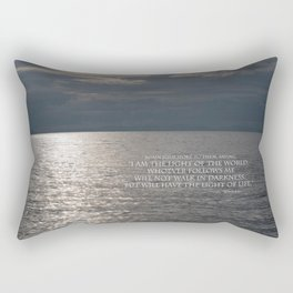 Light of the World Rectangular Pillow