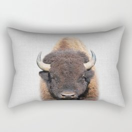 Buffalo - Colorful Rectangular Pillow