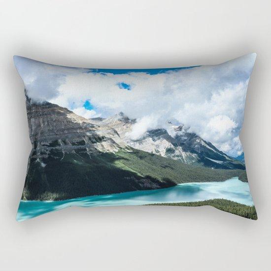 Peyto Lake Rectangular Pillow