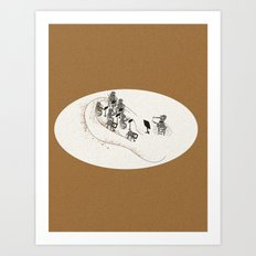 mosquito orchestra Art Print