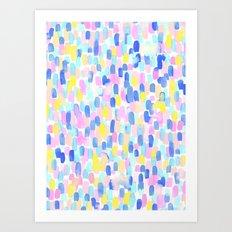 Delight Pastel Art Print