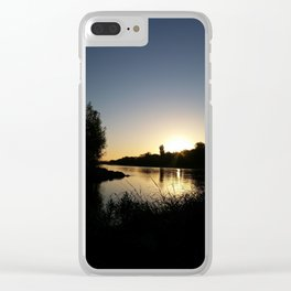 Tears into still waters too Clear iPhone Case