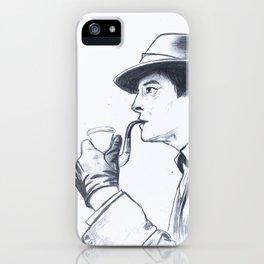 Jeremy Brett as Sherlock Holmes iPhone Case