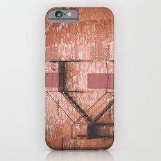 red brick, fire escape iPhone 6s Slim Case
