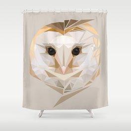 Barn Owl (Neutral) Shower Curtain
