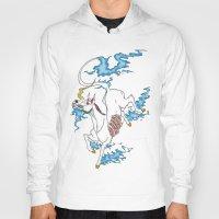 tatoo Hoodies featuring Unicorn Tatoo by DogoD Art