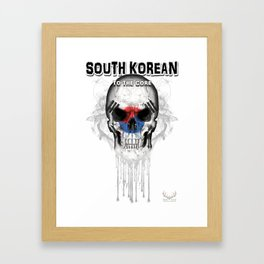 To The Core Collection: South Korea Framed Art Print