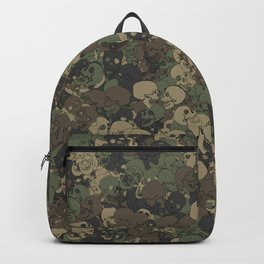 Skull camouflage Backpack