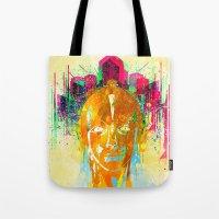 metropolis Tote Bags featuring METROPOLIS by DIVIDUS