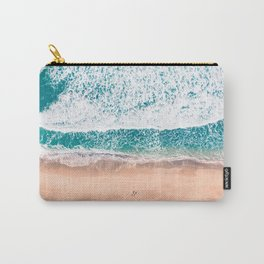 Faded ocean life Carry-All Pouch