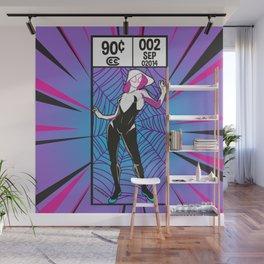 Gwen Corner Art Wall Mural