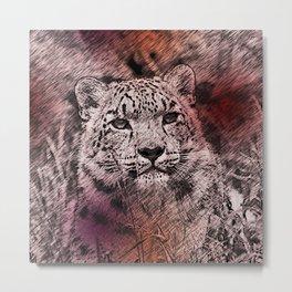 Leopard20151203 Metal Print