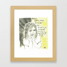 Perfect Love by KJ Alona Framed Art Print