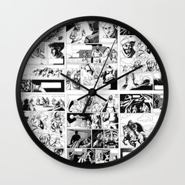 Crusades Comic Wall Clock
