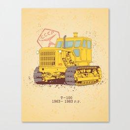 T 100 Canvas Print