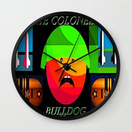 "Colonel ""Bulldog""! Wall Clock"