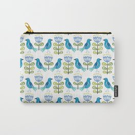 Mid-Century Modern Birds Carry-All Pouch
