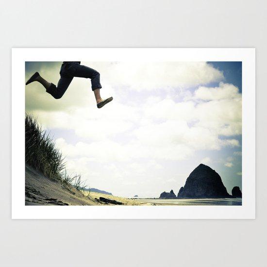 jump. Art Print
