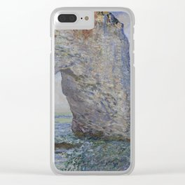 The Manneporte near Étretat Clear iPhone Case