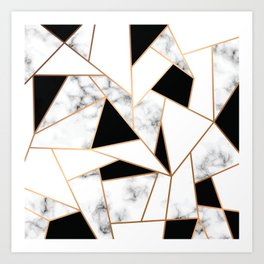 Marble III 003 Art Print