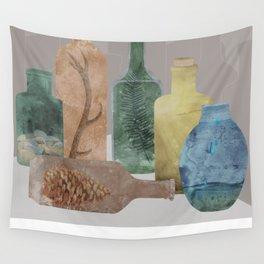 Deconstructed Woods Wall Tapestry