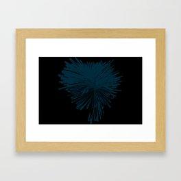 explosion de color Framed Art Print