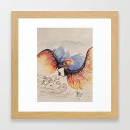 The Jian Framed Art Print