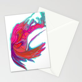 Bright abstract butterfly Stationery Cards