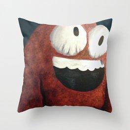 Mr. Squishy Throw Pillow
