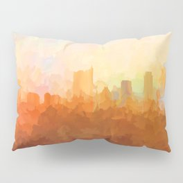 Austin, Texas Skyline - In the Clouds Pillow Sham