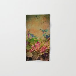 Flowers have music for those who will listen Hand & Bath Towel