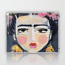 Portrait Inspired by Frida Laptop & iPad Skin