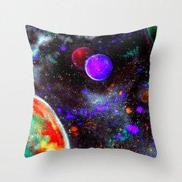 Intense Galaxy Throw Pillow