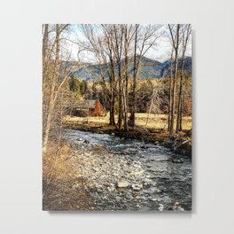 Antiques on the River Metal Print