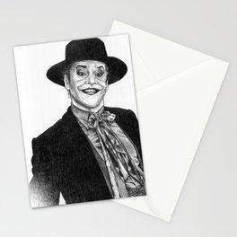 jack nicholson jocker Stationery Cards