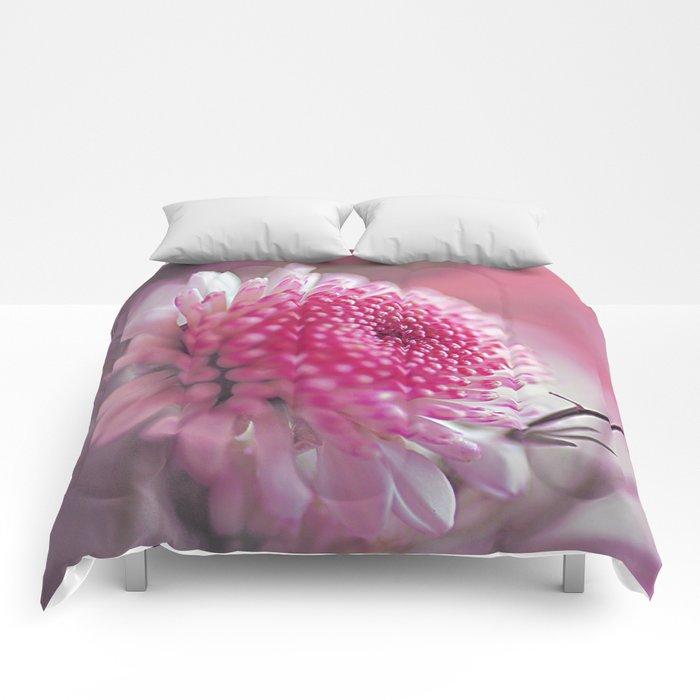 Romantic flower. Comforters