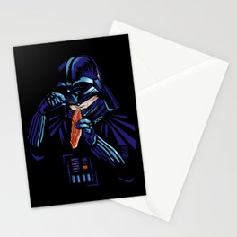 darth bacon Stationery Cards