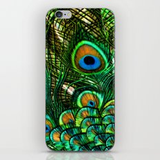 Eye of the Peacock iPhone & iPod Skin