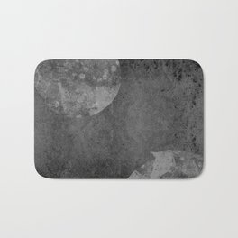 Moon with Horses in Grays Bath Mat
