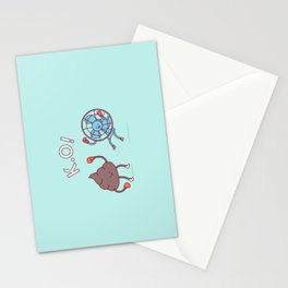 Shit Hits The Fan Stationery Cards