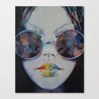 asia Canvas Prints featuring Asia by Michael Creese