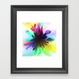 splatty Framed Art Print