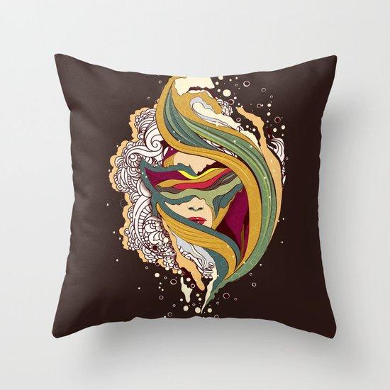Triangular dream Throw Pillow