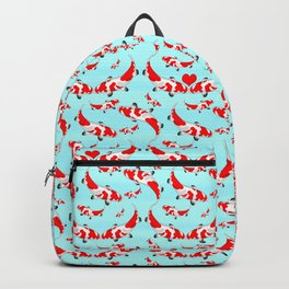 Koi Fish Kisses Backpack